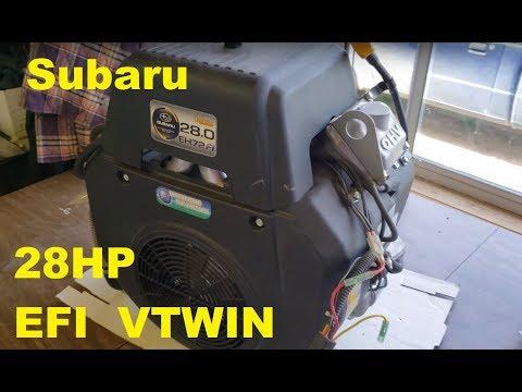 Subaru 720cc 28HP EFI Vtwin EH72 FI (Ideals For The Engine)