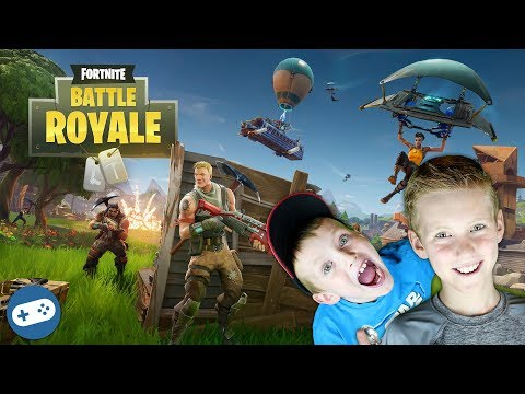 Fortnite Battle Royale Family Friendly Gameplay Part 5 with Liam and Owen!