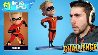 The INCREDIBLES CHALLENGE in Fortnite: Battle Royale!