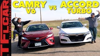 Best Seller Battle! 2018 Honda Accord vs Toyota Camry Expert Buyer