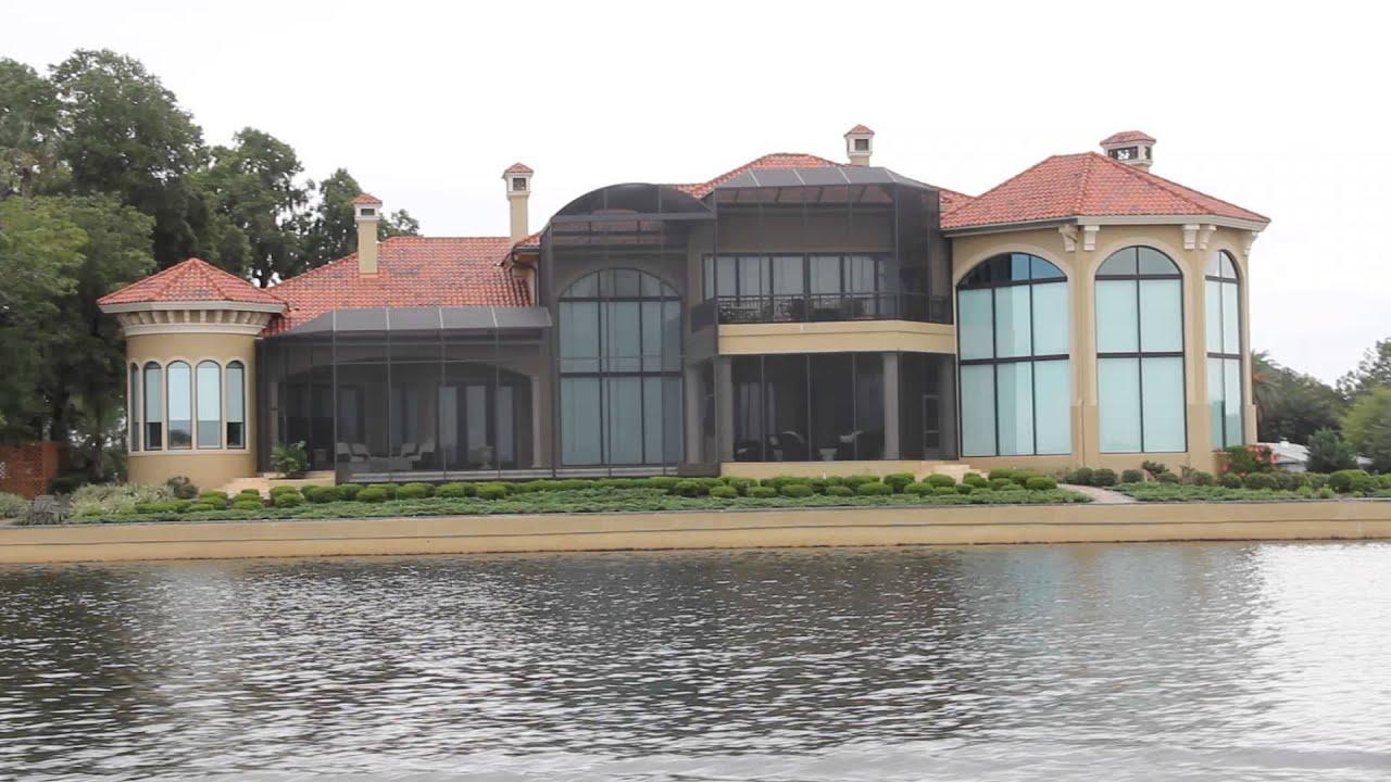 John travolta 39 s house in florida youtube for Building a home in florida