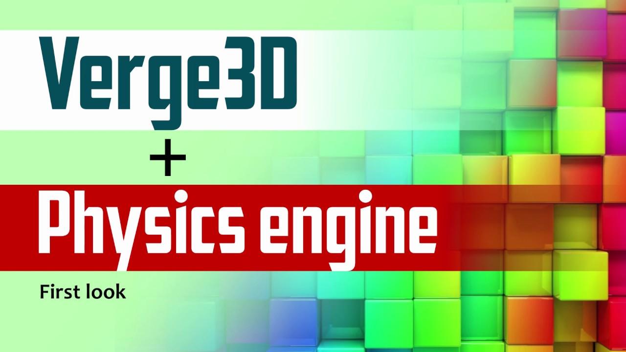 Verge3D 2 11 for Blender/3ds Max Released - Soft8Soft
