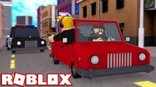 ROBLOX PRISON LIFE / RUNNING FROM MILLIONS OF COPS!!!