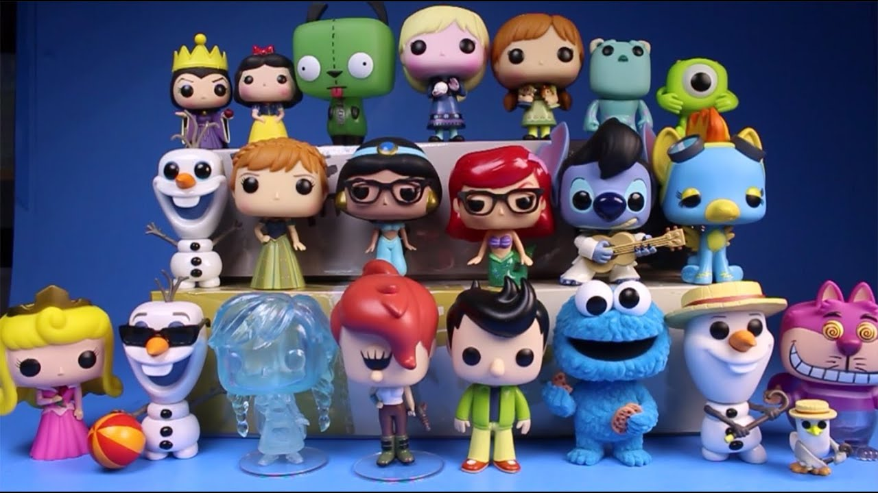 New Funko Pop Figures Collection 2015 Disney Frozen