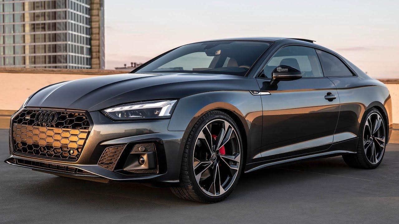 2021 Audi A5 Coupe Engine