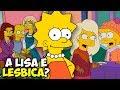 A Lisa é Lésbica?! Quem são os personagens gays nos Simpsons?