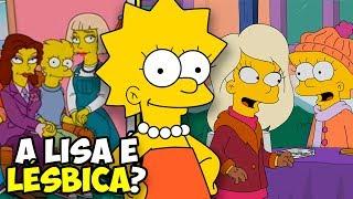 A Lisa é Lésbica?! Quem são os personagens gays nos Simpsons? Nesse...
