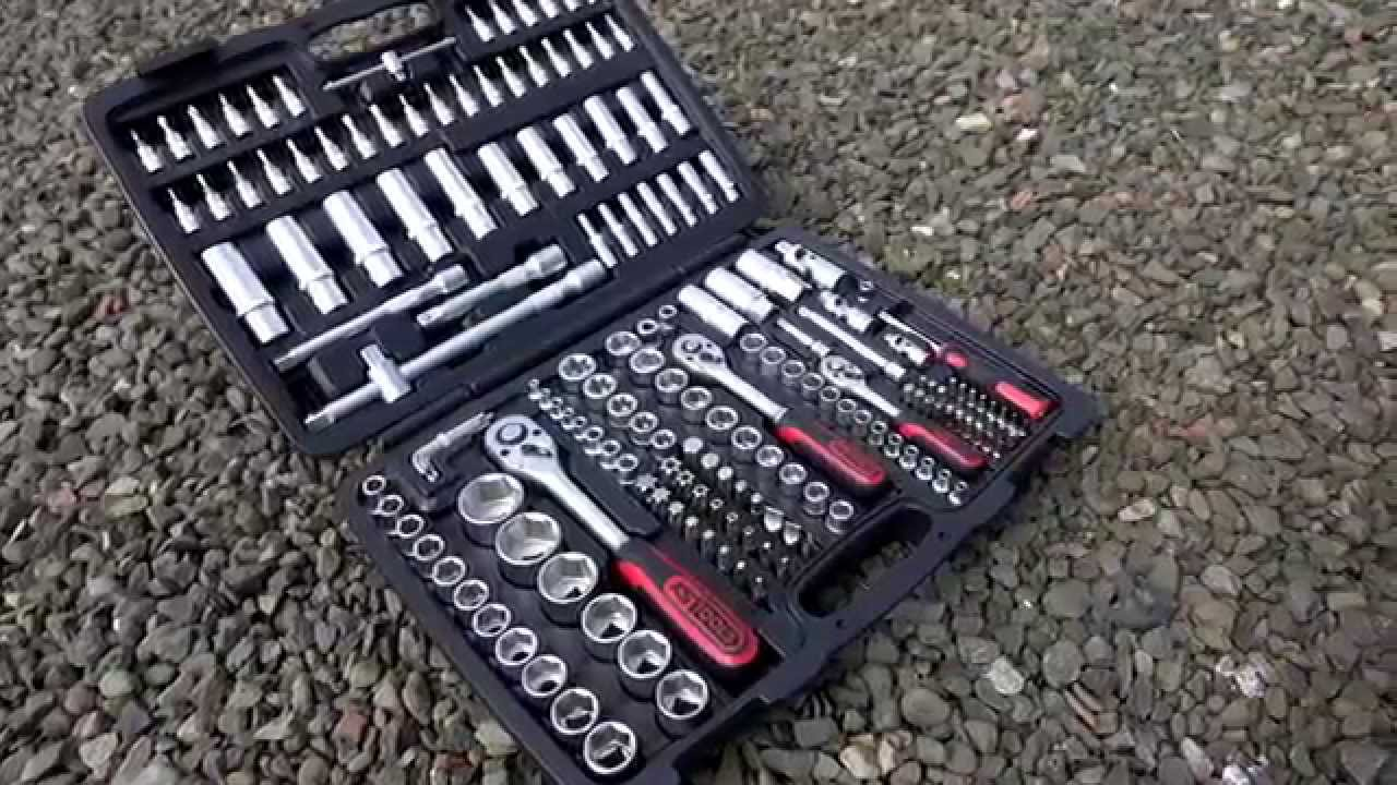 ks tools classic 179 piece socket set youtube. Black Bedroom Furniture Sets. Home Design Ideas