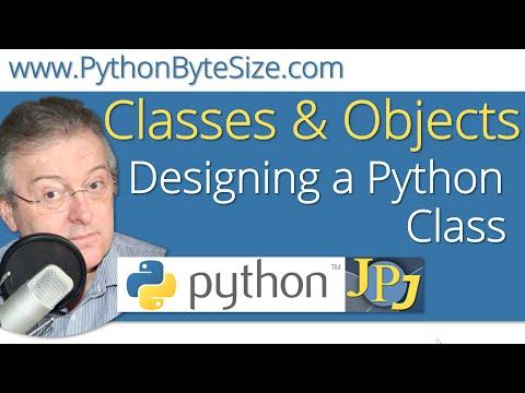 Designing a Python Class