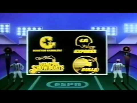 1984 ESPN Opening for USFL Games