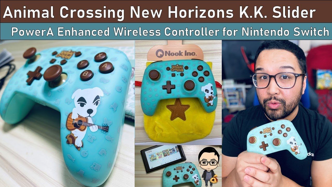 animal crossing wireless switch pro controller