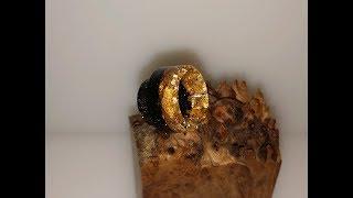 Black, gold glitter, gold leaf 810 drip tip