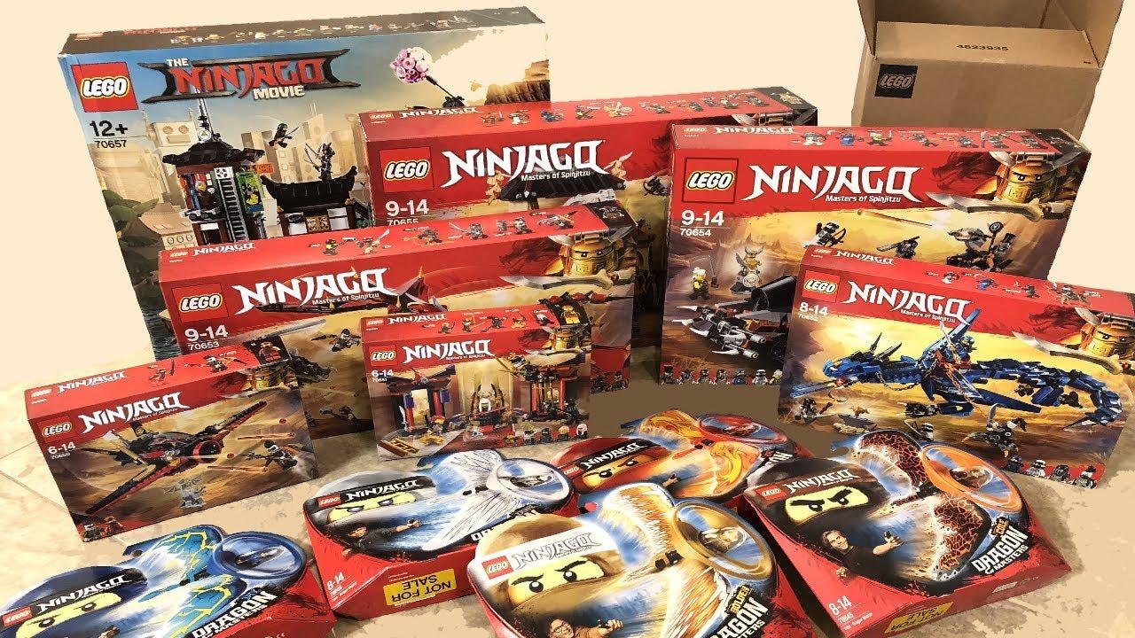 Lego Sent Me All Of The Ninjago 2018 Summer Sets Youtube