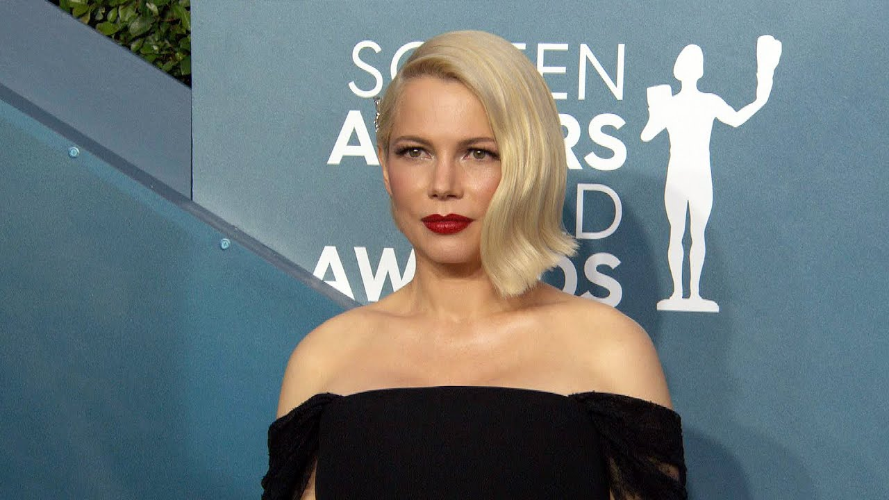 Michelle Williams' Baby Bump GLOWS on the Red Carpet | SAG Awards 2020