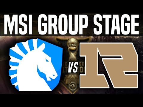 TL vs RNG - MSI 2018 Group Stage Day 5 - Team Liquid vs Royal Never Give Up | LoL MSI 2018