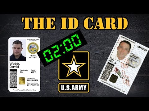 The Military ID Card