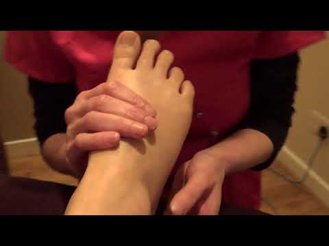 Jubilee College Reflexology Techniques -  Arm, Leg, Hip And Reproductive Reflexes (right Foot)