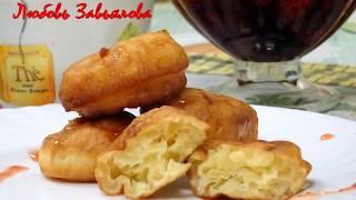 Оладушки-пышки на сметане/Pancakes with sour cream