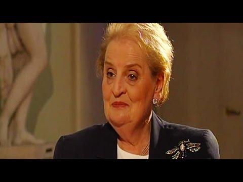 Madeleine Albright interview