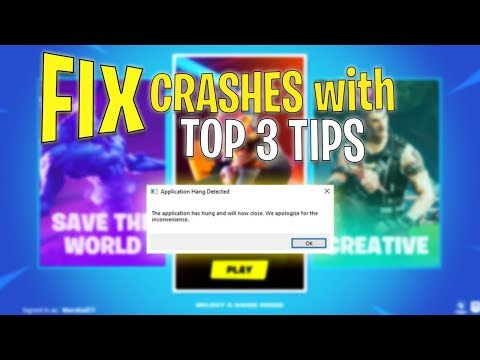 How To Fix ALL Fortnite CRASHES With These 3 Tips...(Best Fix For Game Freezing & Not Starting)