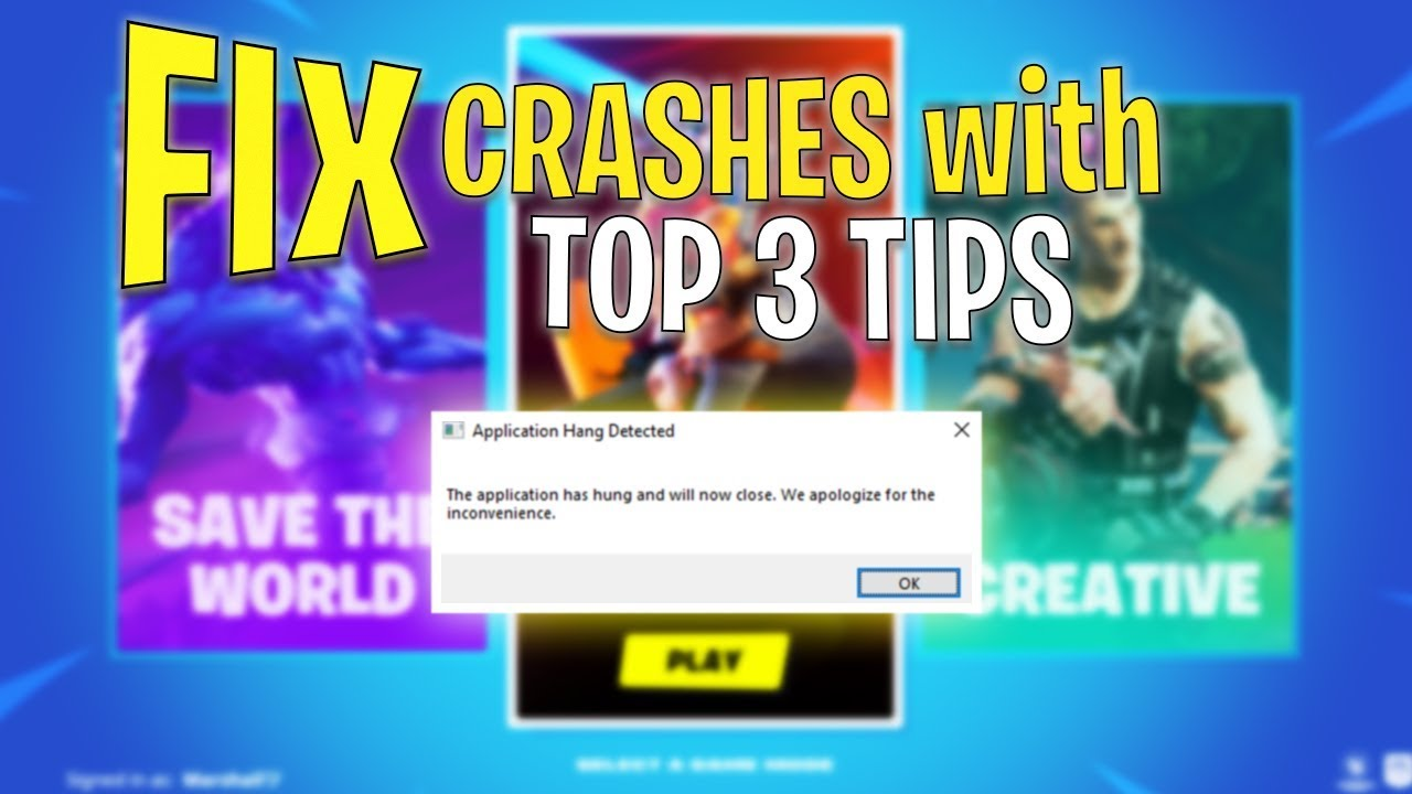 How To Stop Fortnite From Crashing So Much How To Fix All Fortnite Crashes With These 3 Tips Best Fix For Game Freezing Not Starting Youtube