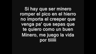 "Letra - Minero ft.StarkinDJ (Parodia de ""Torero"" de Chayanne)"
