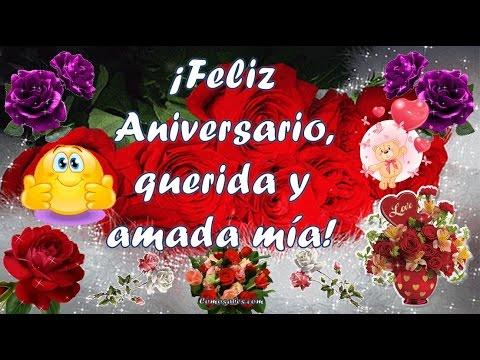 Feliz Aniversario Mi Amor Sabes Compartir