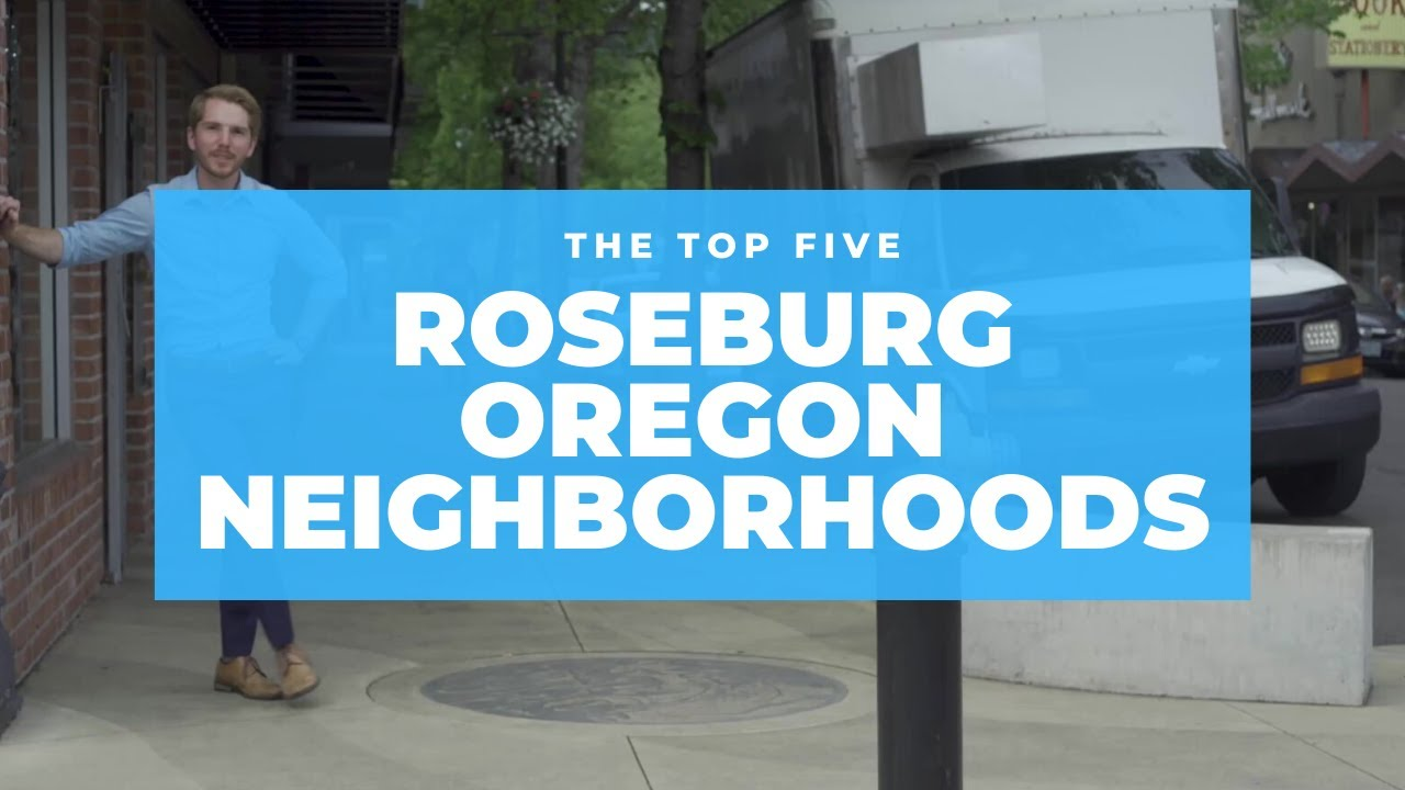 🔴 TOP 5 Best Neighborhoods In Roseburg Oregon to Live in (Neighborhood Tour!)