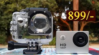 Technuv Action Camera /Full Unboxing / Cheap rate / HD Video / By Asif Ali