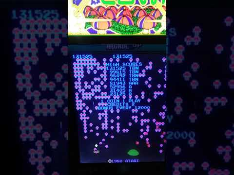 Arcade1Up Centipede (NEW High Score) from TboneNYC10