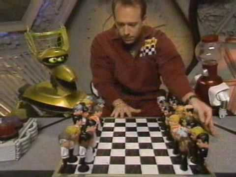 MST3K Invention Exchange: Rat Pack Chess Set