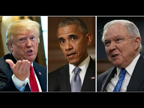 TRUMP DECLARES IT'S GAME ON OBAMA, DEEP STATE!  SESSIONS MUST OBEY 1 ORDER OR GO!