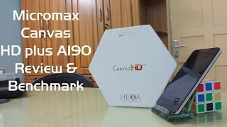Micromax Canvas HD PLUS A190 Review and Benchmark and Camera Response Test