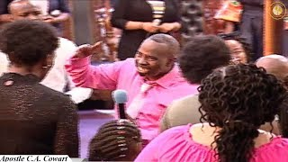 Believing On, Believing In, & Saying The Name Jesus - Apostle C.A. Cowart
