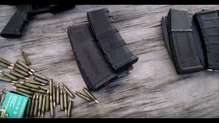 Repeat youtube video AR15 Magazine Torture Test Round 3: Proper Seating and Shake Test (Epic Fail Ensues)