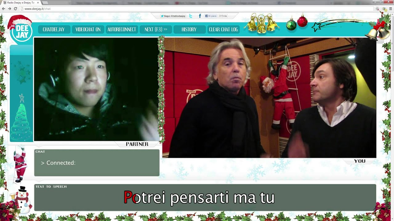 Canzone di natale radio deejay 2012 babbo baby