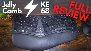 The BRAND NEW Jelly Comb KE68 Keyboard review
