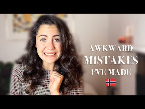 MISTAKES I made whilst living in Norway | Mon Amie