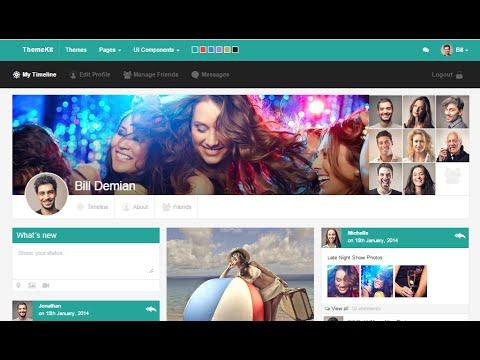 How to make a social network website | Create a Website Like Facebook