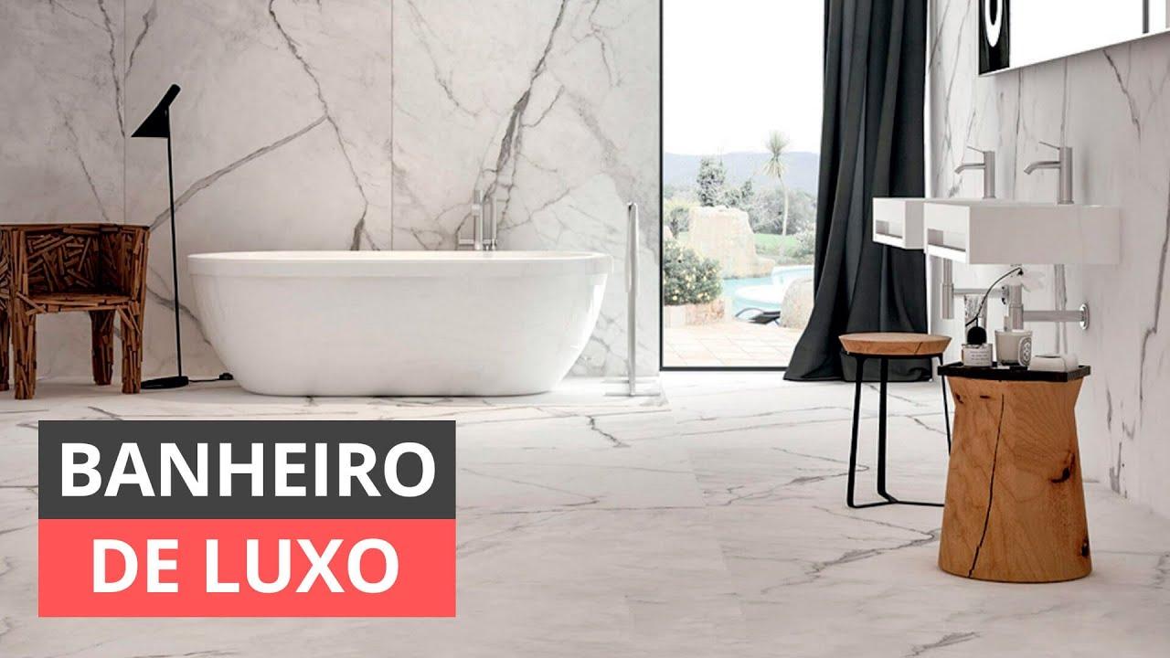 53b94c78bf66 Banheiro de Luxo: 4 Dicas para Transformar o Seu +83 Imagens Lindas