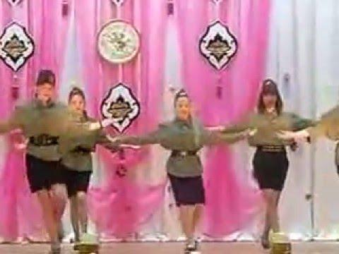 Красивый танец катюша видео
