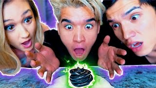 INSANE MAGNETIC THINKING SLIME!!