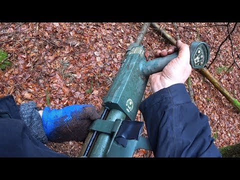 Relic Hunting With A Military PI Metal Detector - Vallon VMH3CS