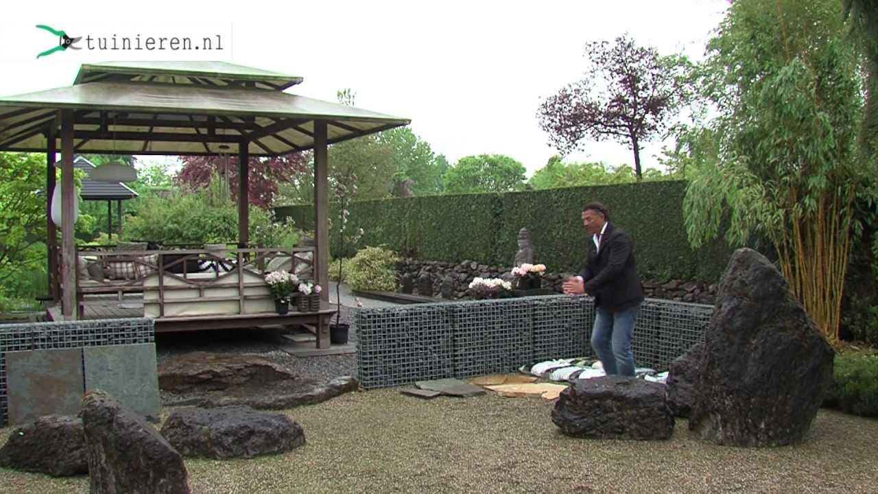 Zelf Tuin Aanleggen : Japanse tuin aanleggen tuinieren youtube