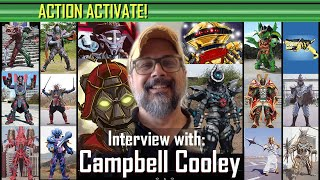 Action Activate! - Interview with Prolific Power Ranger Voice Actor Campbell Cooley.