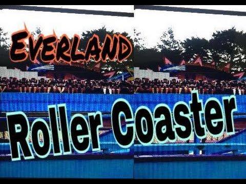 Roller Coaster in Everland | Everland Resort in south korea