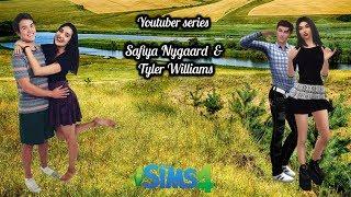 YOUTUBER SERIES // Safiya Nygaard & Tyler Williams // The Sims 4 //