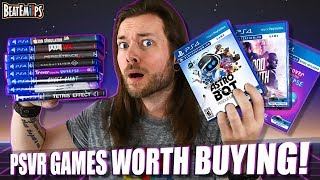 10 BEST PlayStation VR (PSVR) Games Worth Buying! AGAIN!