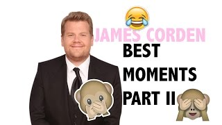 JAMES CORDEN || Best moments part II