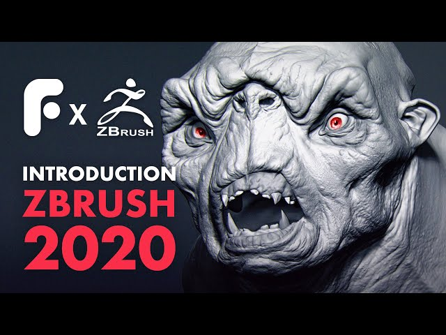 Sculpting a Cave Troll in ZBrush